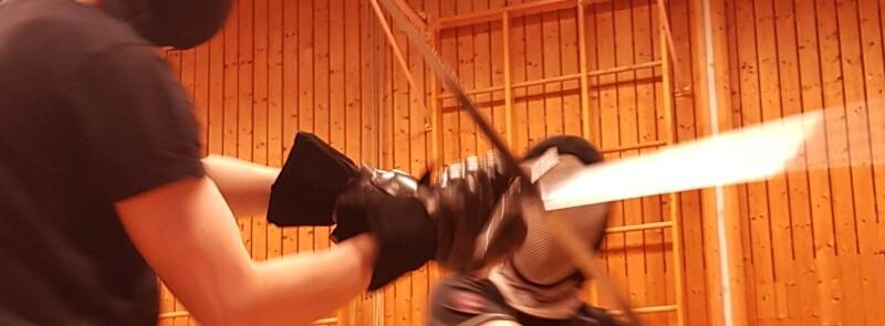 Lerne Schwertkampf